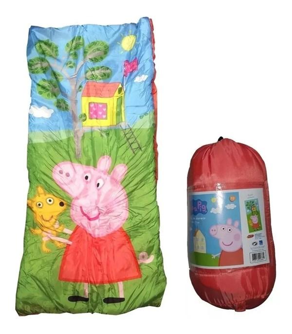 Bolsa De Dormir Infantil Peppa Pig