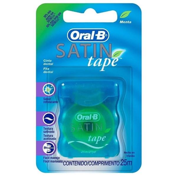 Oral B Cinta Dental x 25 m Satin Tape Menta