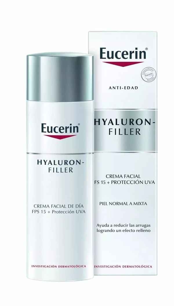 Eucerin HYALURON-FILLER Crema de Día para piel normal a mixta