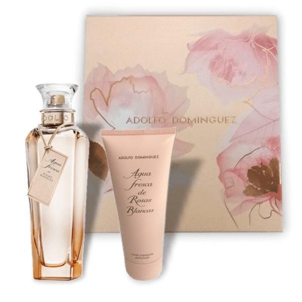 Perfume Adolfo Dominguez Rosas Blancas Cofre