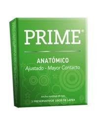 Preservativos Prime Anatomico X3