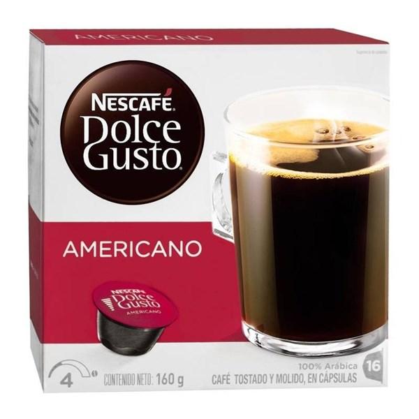 NESCAFE DOLCE GUSTO AMERICANO x 160 GRS