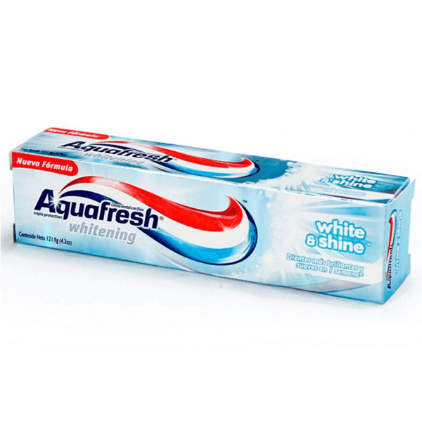 Aquafresh Crema Dental White & Shine x100gr
