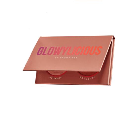 Paleta Iluminador & Bronzer Glowylicious by Brown Bee