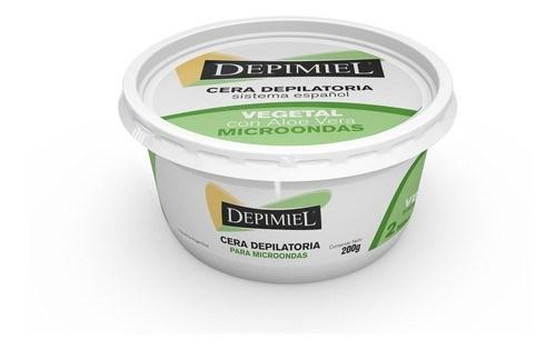 Depimiel, cera en pote para microondas vegetal 200 g  #1