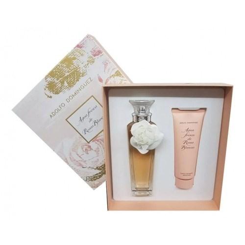 Perfume Adolfo Dominguez Rosas Blancas Cofre  alt