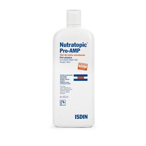 Isdin Gel De Baño Nutratopic Pro-Amp Gel Baño X 400 Ml