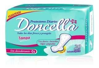 Doncella Protector Diario Tanga 20un 2x1