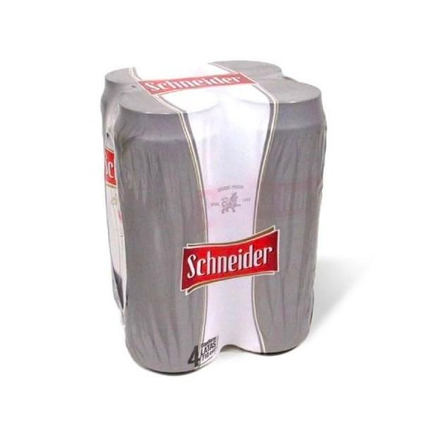 SCHNEIDER LATA FOUR PACK x 4 X 710 CC