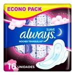 Toallitas Higienicas Always Noctur Maxi Prot Suav X 16 Unidades  #1