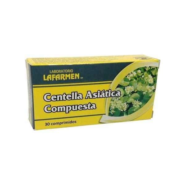 Suplemento Centella Asiática Compuesta Blister x30 Comprimidos