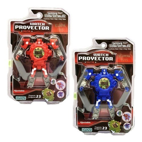 Transformers Reloj Watch Projector