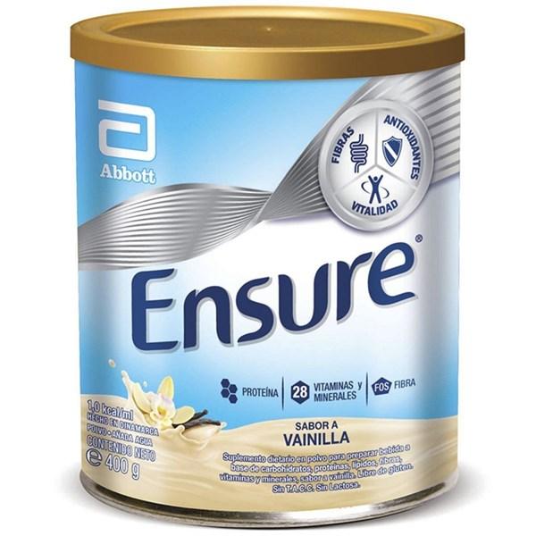 Suplemento Nutricional en polvo Ensure sabor vainilla x 400g #1