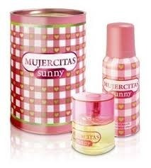 Mujercitas Sunny Lata (Edt x40ml + Deo)