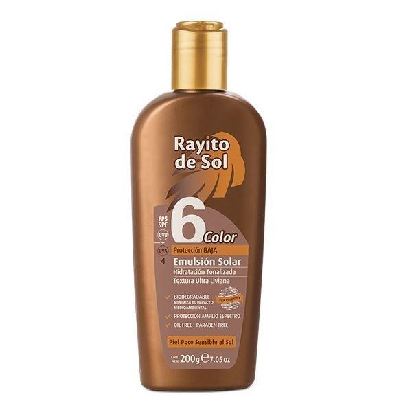 Rayito De Sol Protector Solar Crema SPF 6 200g