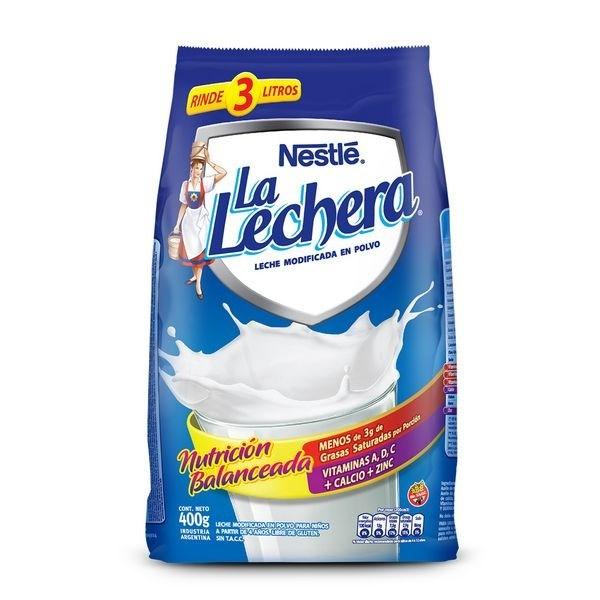 LECHE EN POLVO LA LECHERA x 800 GRS