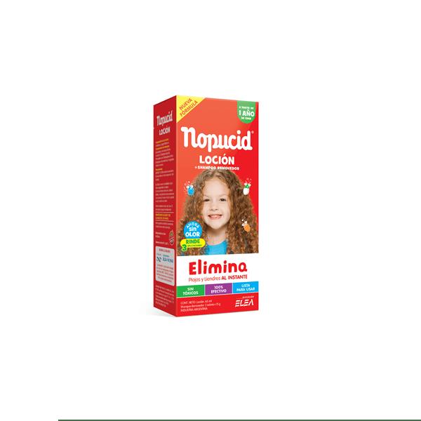 Nopucid Bio Citrus locion x 140 ml