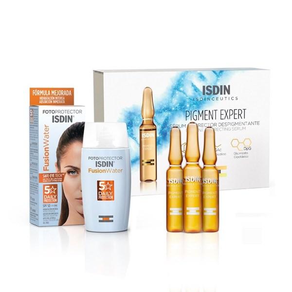 Combo Isdin - Isdinceutics Pigment Expert  - Fotoprotector Fusion Water