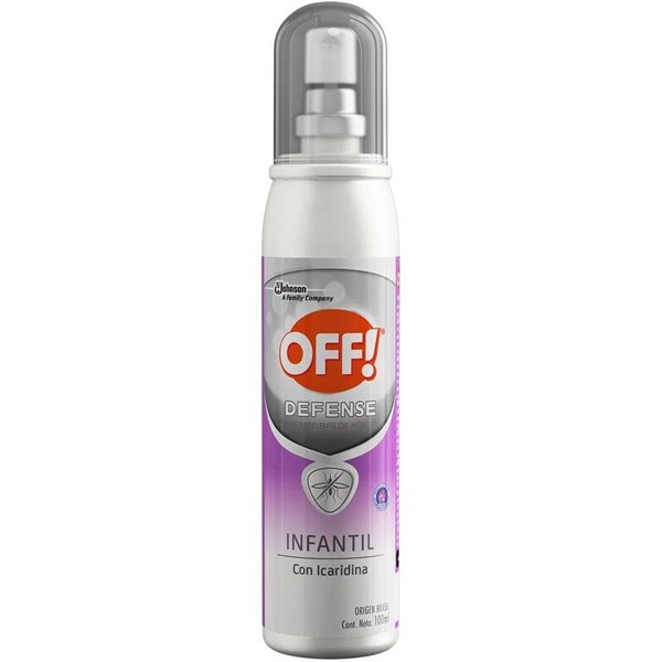 Off Repelente Defense Infantil Spray 100ml
