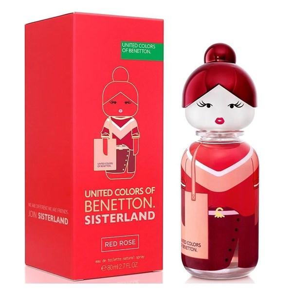 Benetton Sisterland Red Rose EDT X 80 Ml