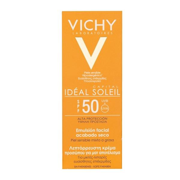 Vichy Ideal Soleil Crema Rostro Toque Seco Fps30 X 50 Ml alt