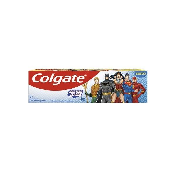 Pasta Dental Colgate Kids Liga De La Justicia X 90 Gramos