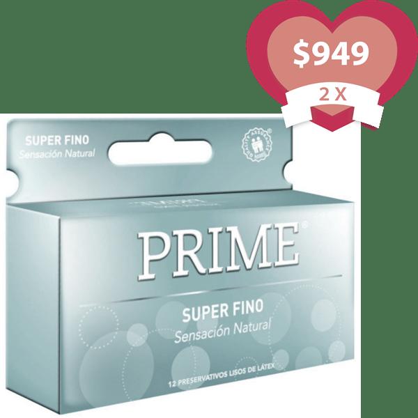Combo 2X Preservativos Super Fino X 12 Unidades