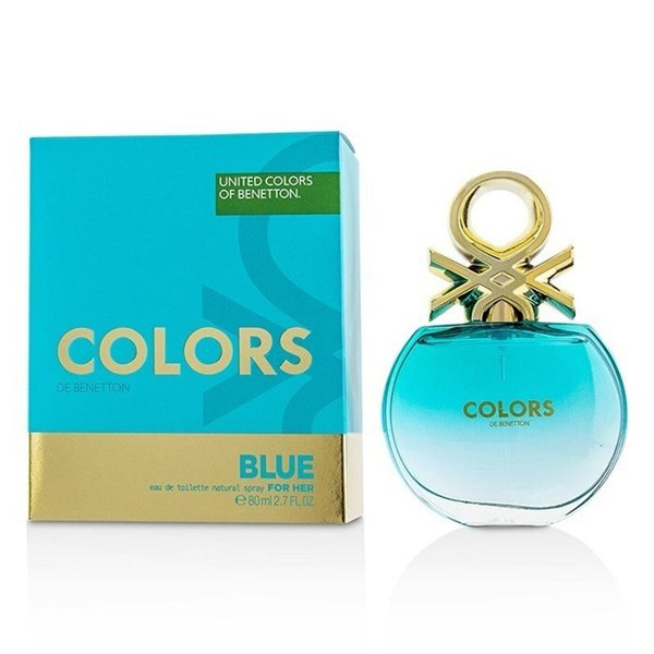 Benetton Eau De Toilette x 80ml Colors Blue