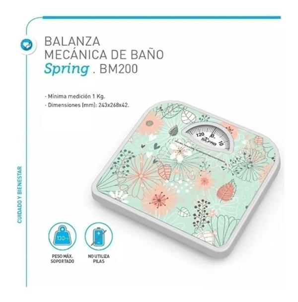 Balanza Mecánica De Baño Silfab Spring BM200 alt