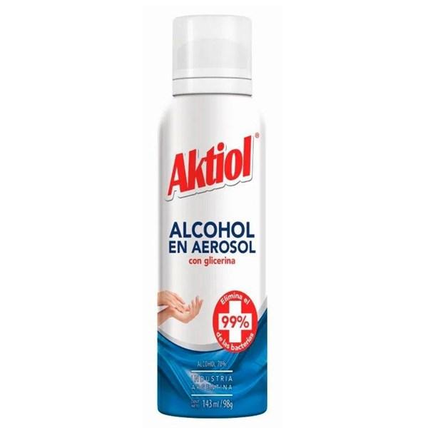 ALCOHOL AE AKTIOL x 143 MLTS