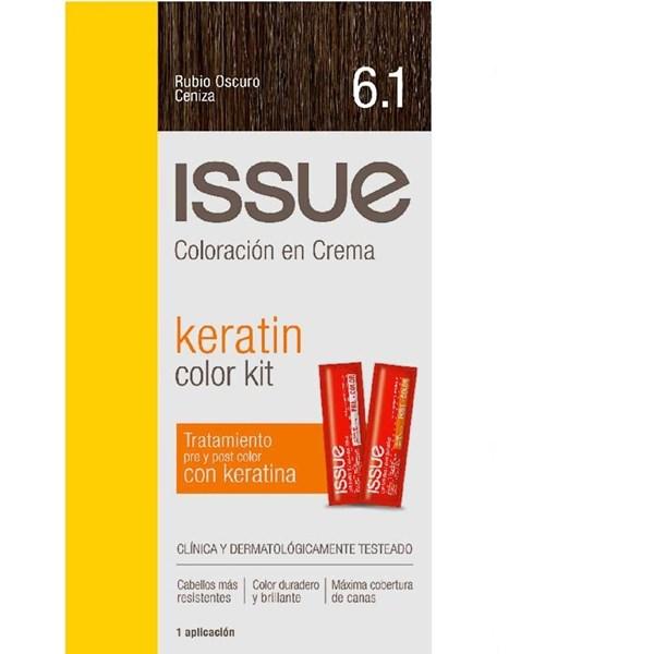 ISSUE Tintura Kit 6.1 Rubio Oscuro Ceniza
