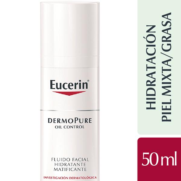 Dermopure Oil Control Eucerin Fluido Matificante X 50 Ml #1