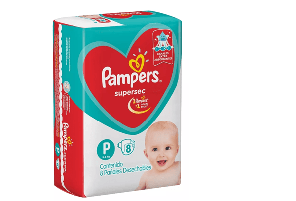 Pampers Supersec P X 8