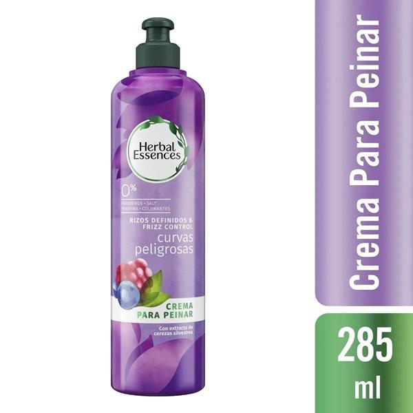 Herbal Essences Crema Para Peinar x 285ml Curvas Peligrosas