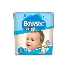Babysec Ultra Mega-pack G X22