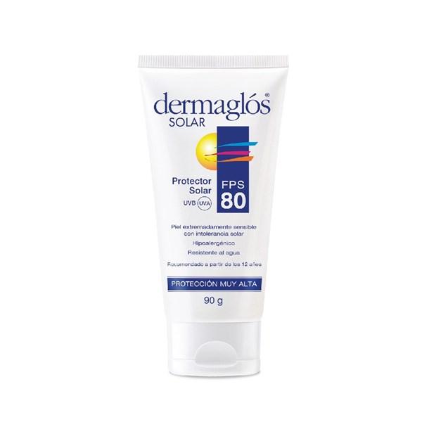 Dermaglós Protector Solar Crema SPF 80 90g