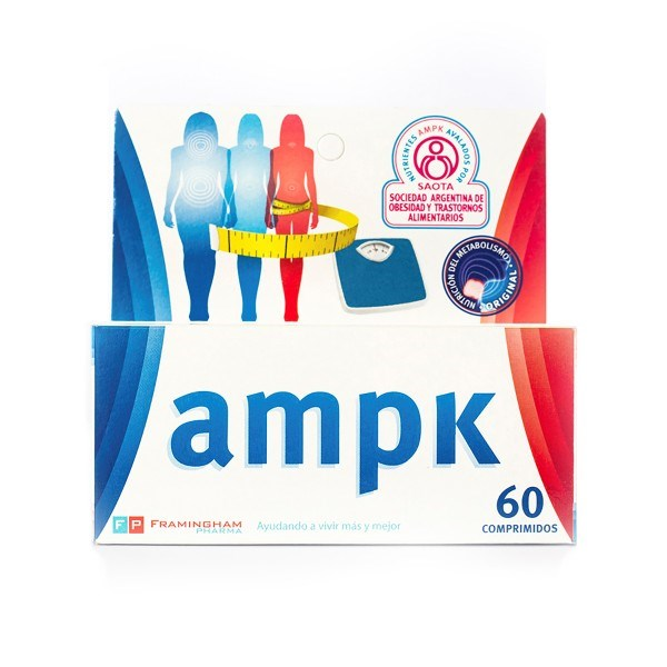 Suplemento AMPK 60 Cápsulas