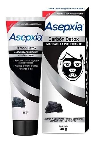Asepxia Mascarilla Detox Carbon 30gr