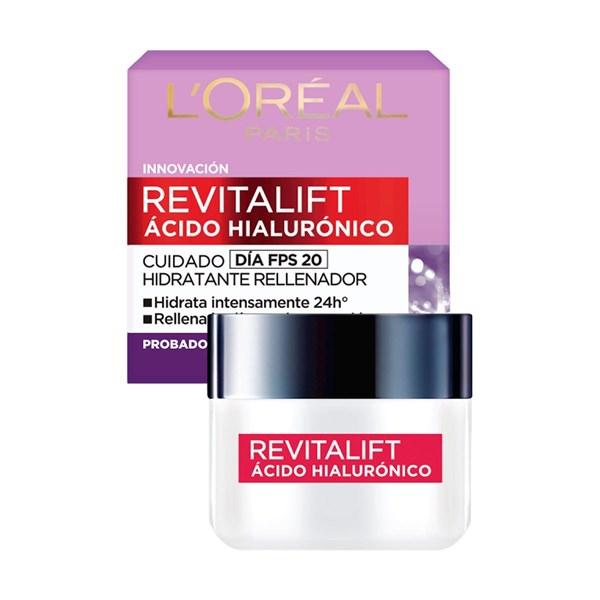 Crema Facial L'Oreal Dermo-Expertise Revitalift Acido Hialuronico Noche x50ml