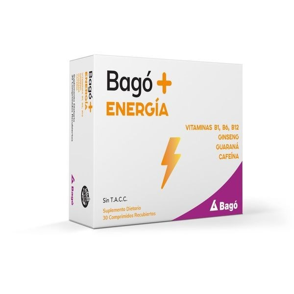 Bagó- Energía x30 comprimidos
