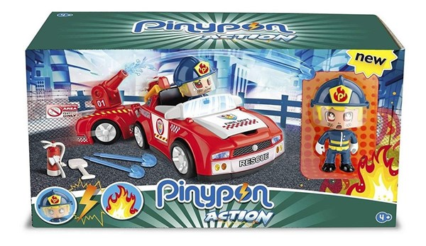 Pinypon Action Auto De Bomberos