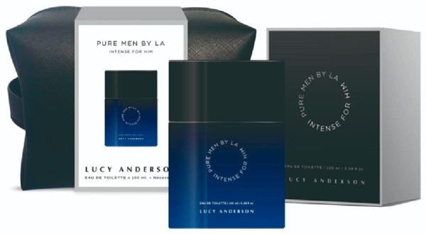 Necessaire Pure Man Intense EDT For Him by Lucy Anderson X 100ml
