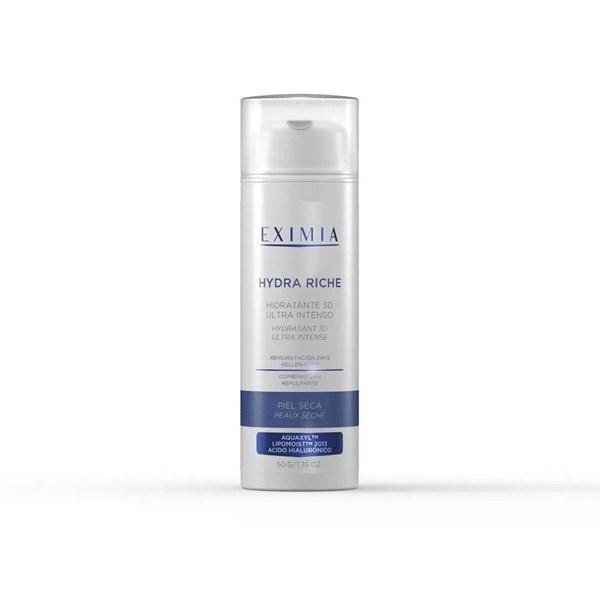 Eximia Hydra Riche Crema Facial x50g Hidratante 3D Piel Seca