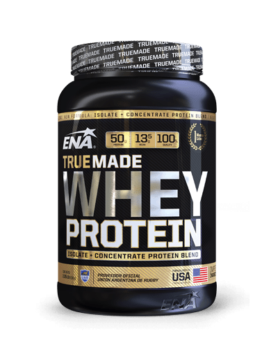 Suplemento ENA Proteina True Made Whey Protein Chocolate 2 Lb