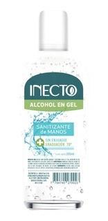 Inecto Alcohol En Gel Neutro X 260 Ml