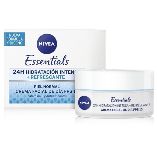 Nivea Facial 24 Hs Hidratación Intensa + Refrescante