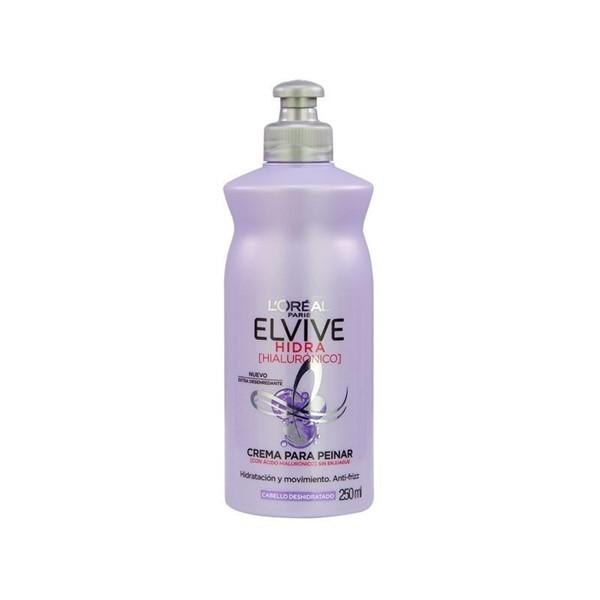 Elvive Crema Para Peinar Hidra Hialuronico X 250 ml