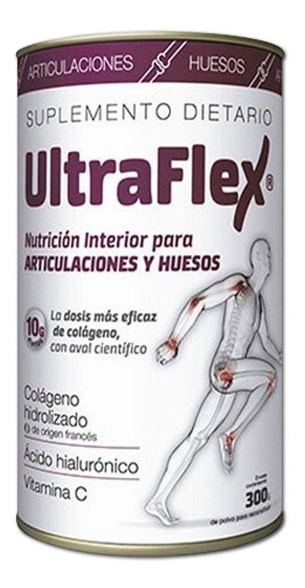 Ultraflex Colágeno Hidrolizado Para Articulaciones Y Huesos 300 g