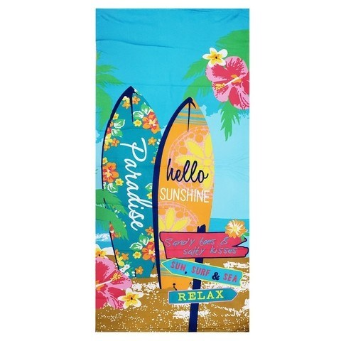 Toallon Playero Estampado  alt