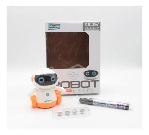 Robot Interactivo Con Sensor Inductivo alt